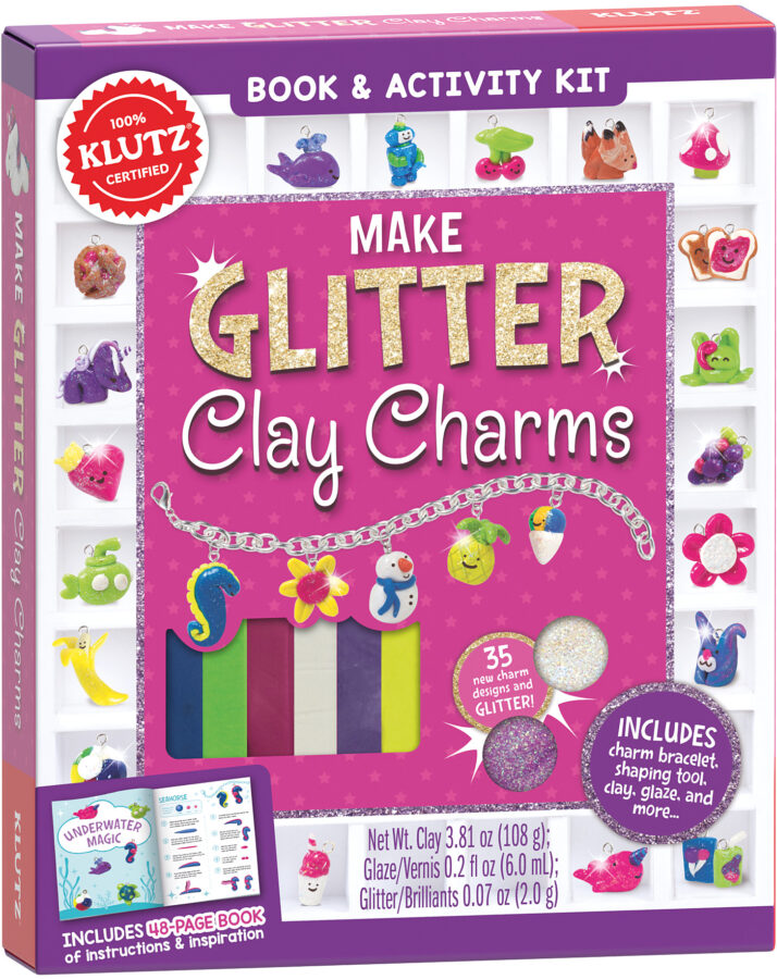 Editors of Klutz - Make Glitter Clay Charms