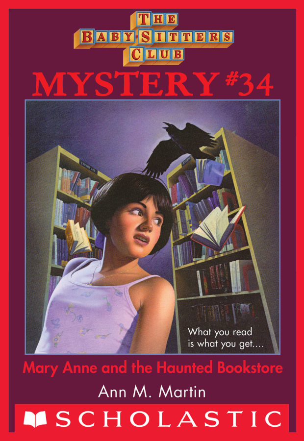 Ann M. Martin - Mary Anne and the Haunted Bookstore