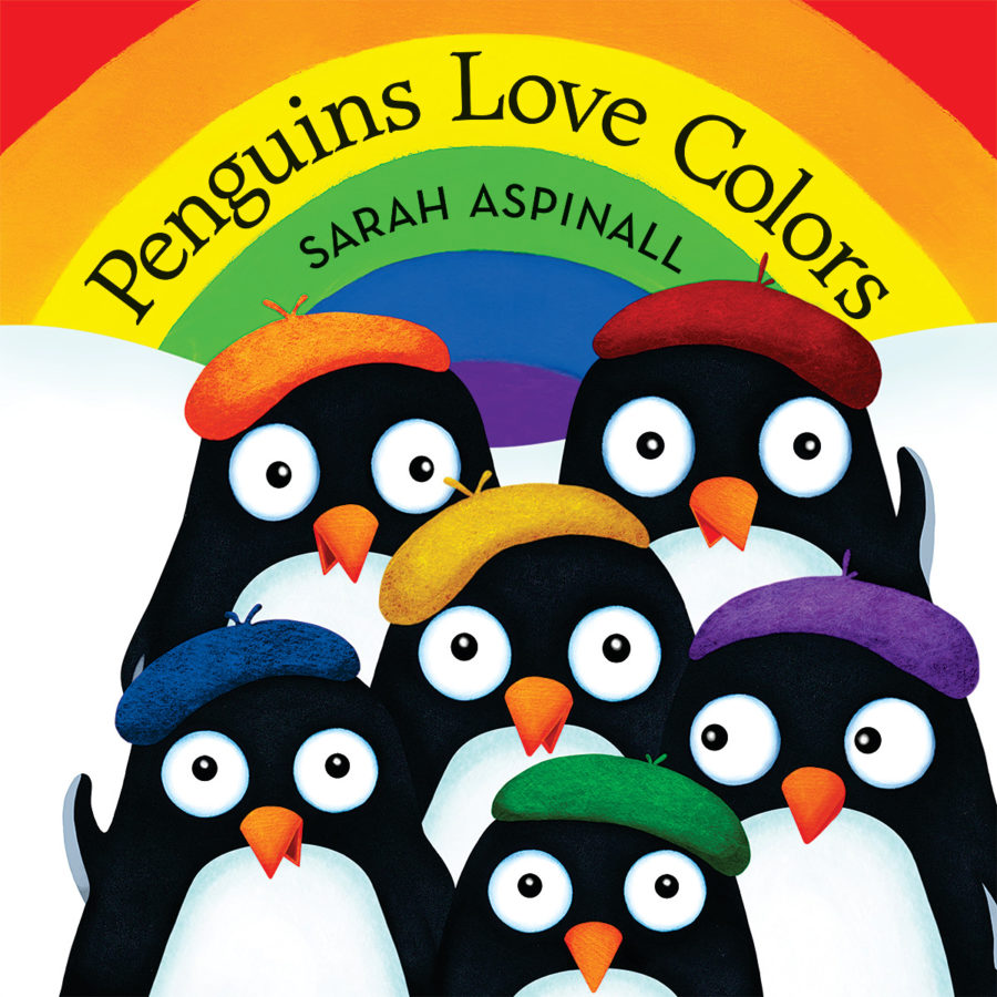 Sarah Aspinall - Penguins Love Colors