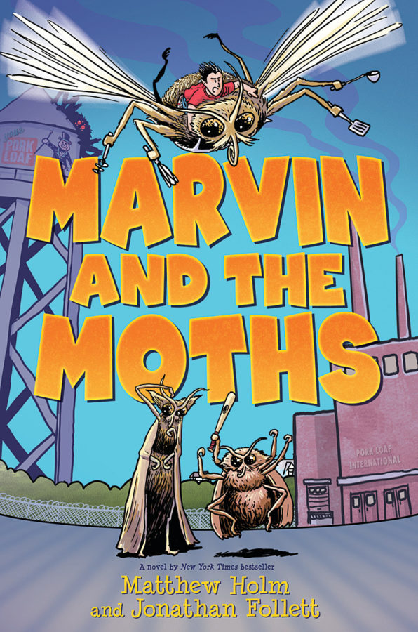 Matthew Holm - Marvin and the Moths