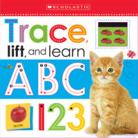 Scholastic Early Learners: Trace, Lift, and Learn: ABC 123