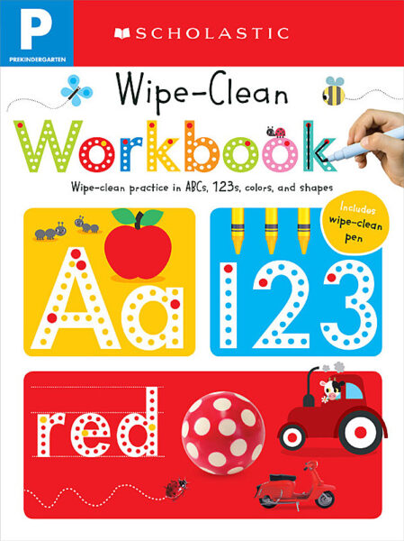 Scholastic - Wipe Clean Workbooks: Pre-K