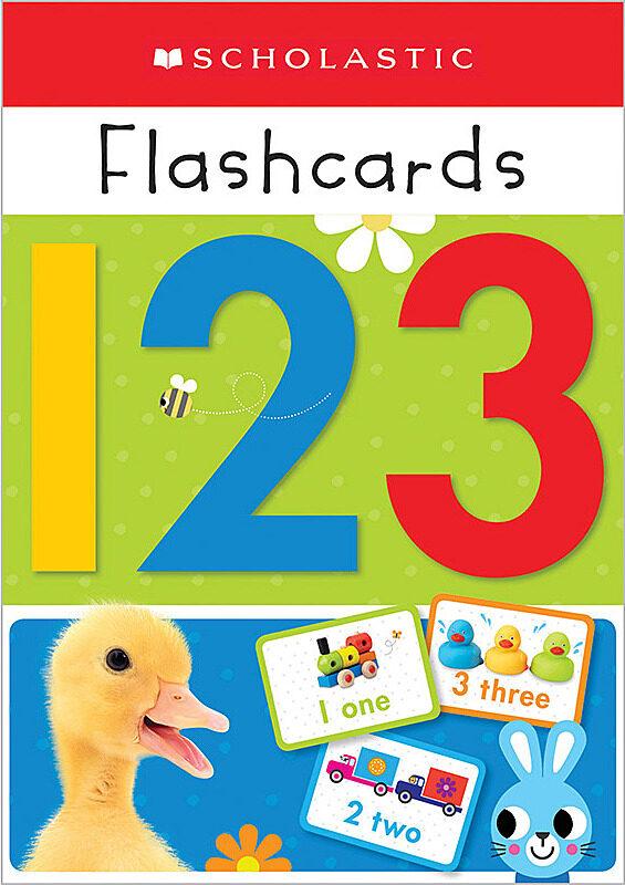 Scholastic - Flashcards - 123