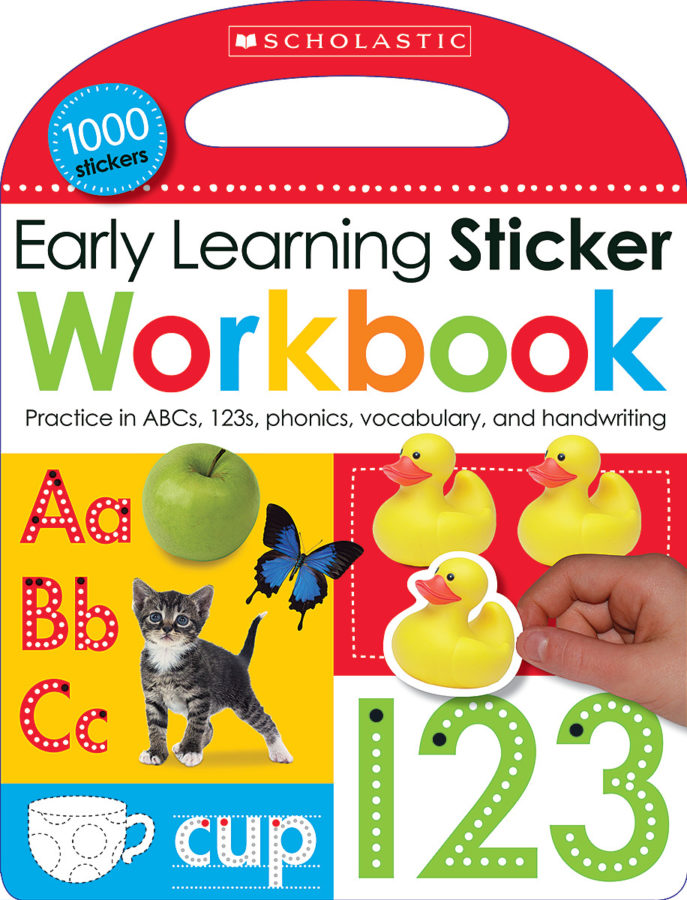 Scholastic - Early Learning Sticker Workbook