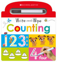 Scholastic Early Learners: Write and Wipe Counting