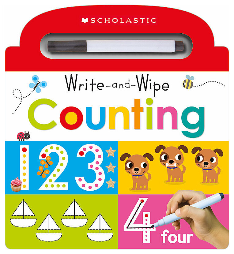 Scholastic - Write and Wipe Counting