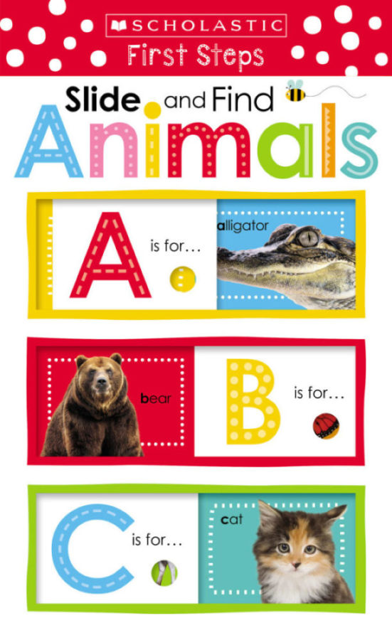 Scholastic - Slide and Find Animals