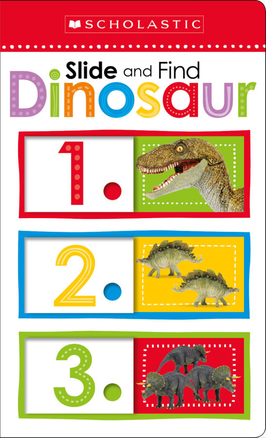 Scholastic - Slide and Find Dinosaurs