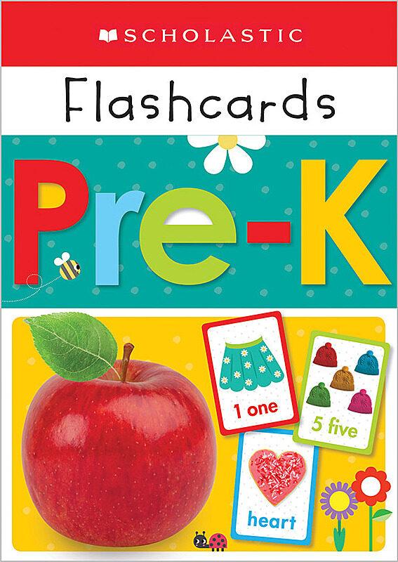 Scholastic - Flashcards - Pre-K