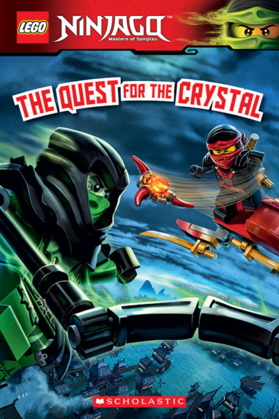 lego ninjago the quest for the crystal reader 14