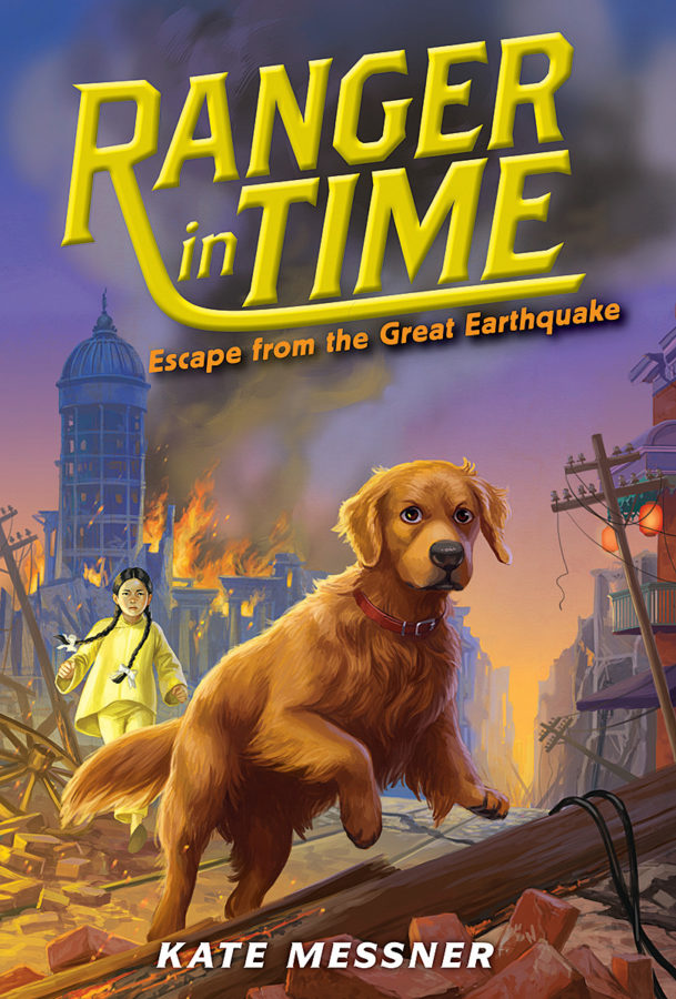 Kate Messner - Escape from the Great Earthquake