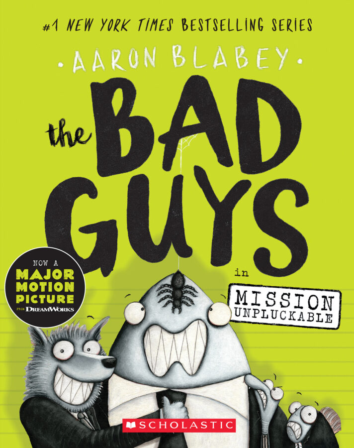 Aaron Blabey - Bad Guys in Mission Unpluckable, The