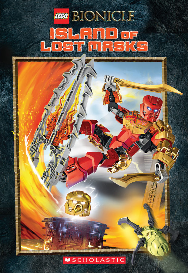 Ryder Windham - LEGO Bionicle: Island of Lost Masks (Chapter Book #1)
