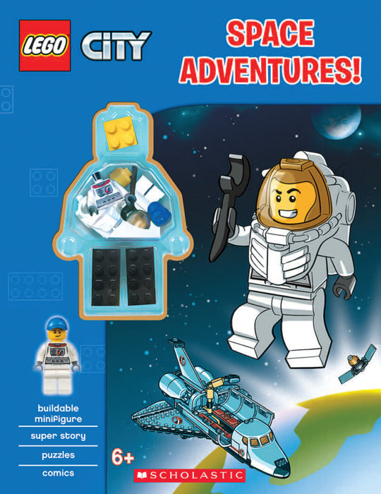 LEGO City: Space Adventures! (Activity Book with Minifigure) by