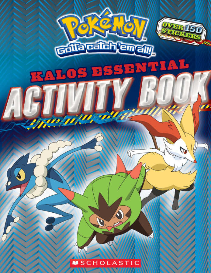 Scholastic - Pokémon: Kalos Essential Activity Book