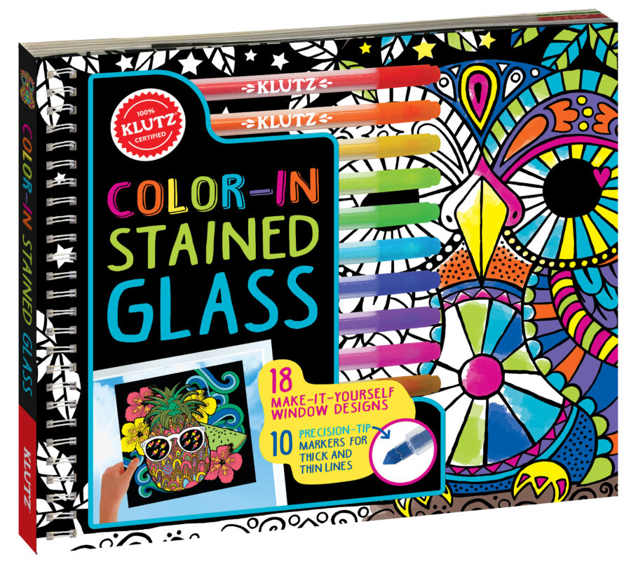 Scholastic - Color in Stained Glass