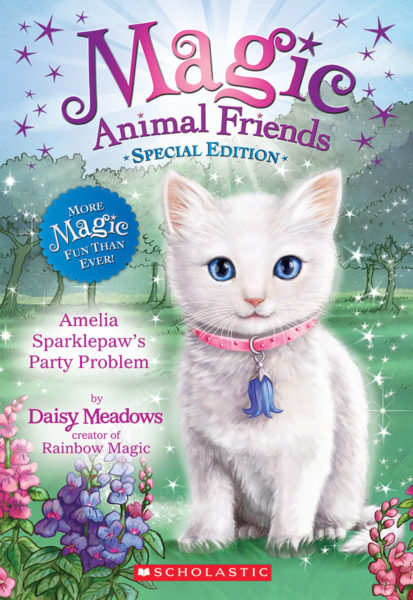 Daisy Meadows - Amelia Sparklepaw's Party Problem