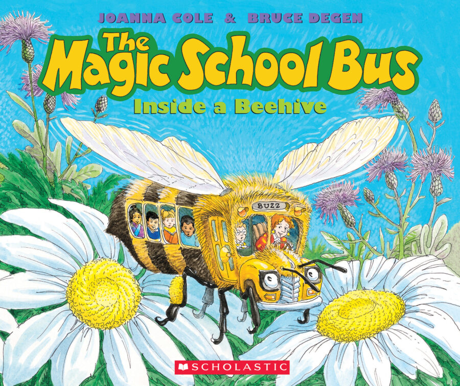 Joanna Cole - The Magic School Bus Inside a Beehive