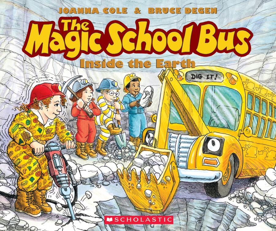 Joanna Cole - The Magic School Bus Inside the Earth