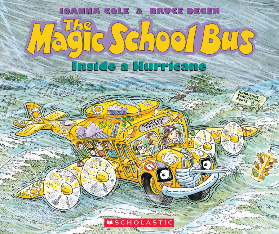 Joanna Cole - The Magic School Bus Inside a Hurricane