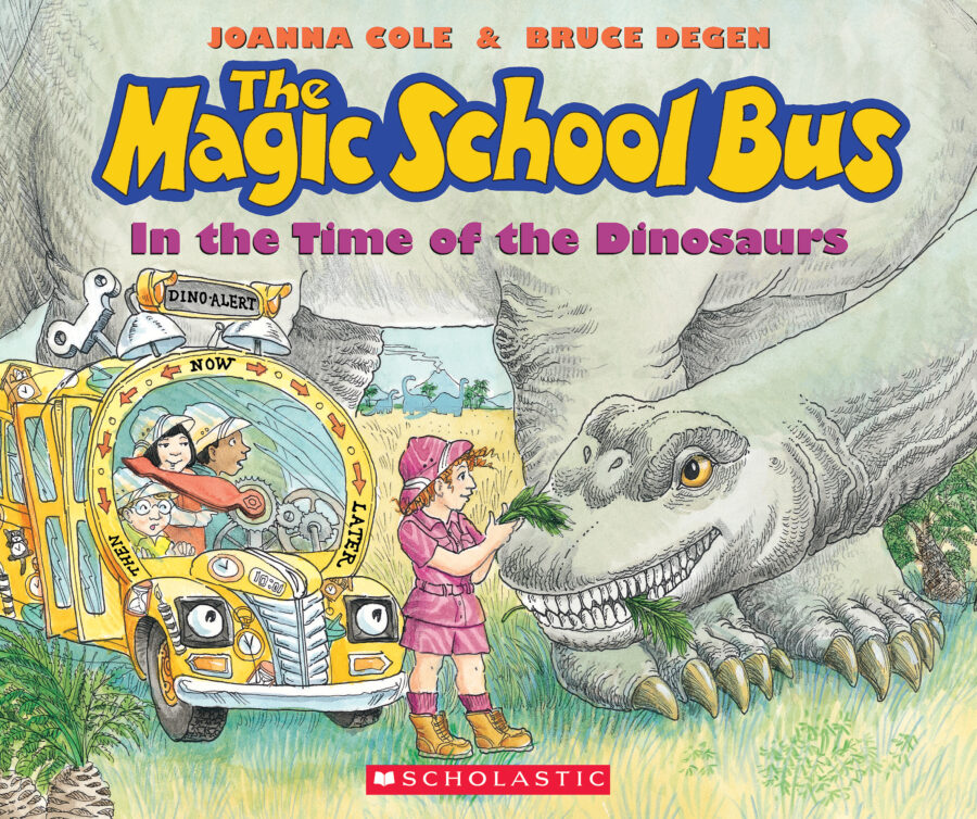 Joanna Cole - The Magic School Bus in the Time of the Dinosaurs