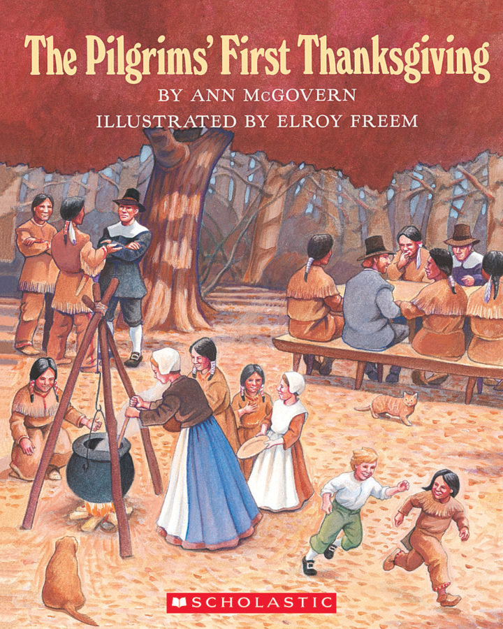 Ann McGovern - Pilgrims' First Thanksgiving, The