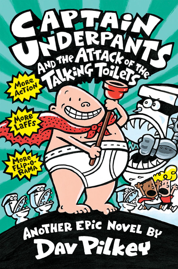 Dav Pilkey - Captain Underpants and the Attack of the Talking Toilets