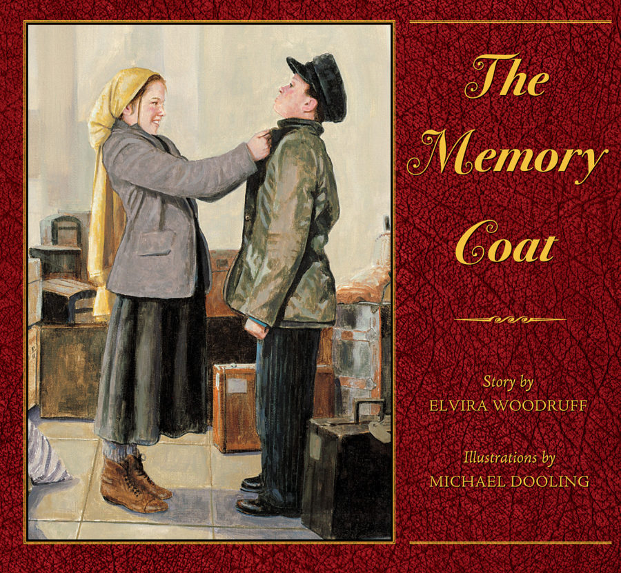 Elvira Woodruff - Memory Coat, The