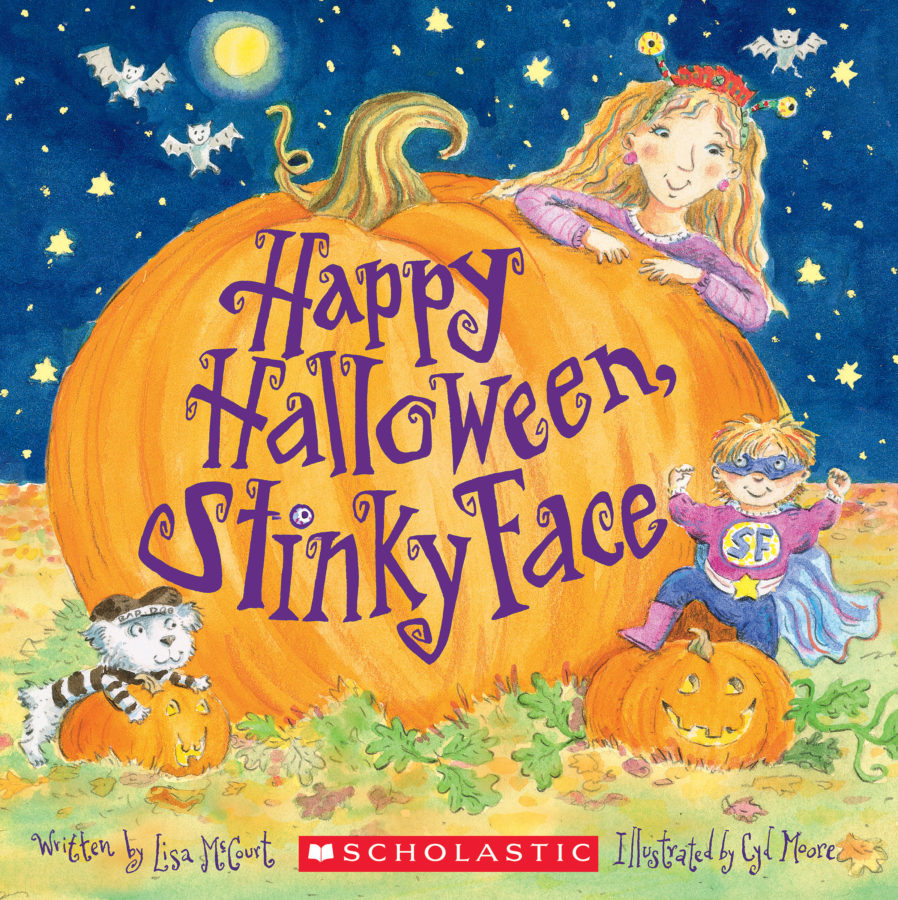 Lisa McCourt - Happy Halloween, Stinky Face