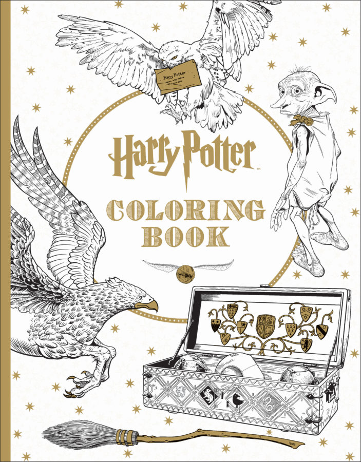 Scholastic - Harry Potter Coloring Book