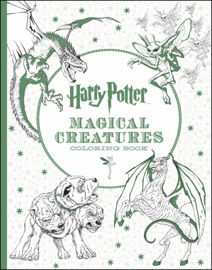 Scholastic - Harry Potter Magical Creatures Coloring Book
