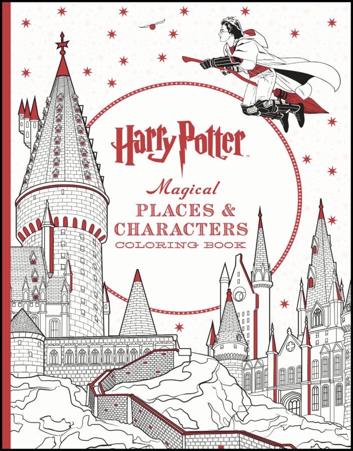 Scholastic - Harry Potter Magical Places & Characters Coloring Book