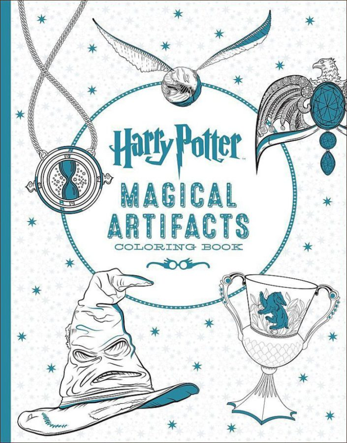 Scholastic - Harry Potter Magical Artifacts Coloring Book