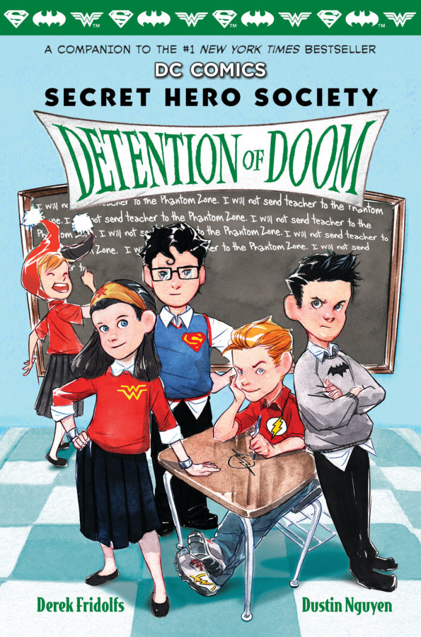 Derek Fridolfs - DC Comics: Secret Hero Society, Detention of Doom (Book 3)