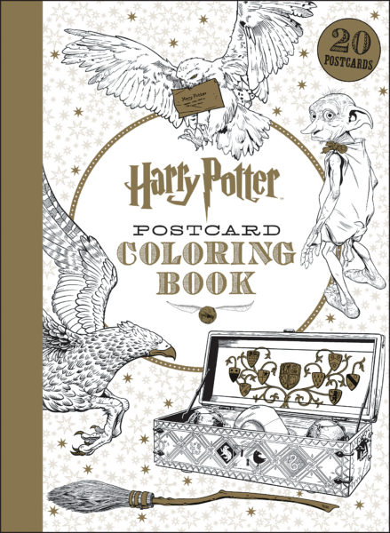 Scholastic - Harry Potter Postcard Coloring Book