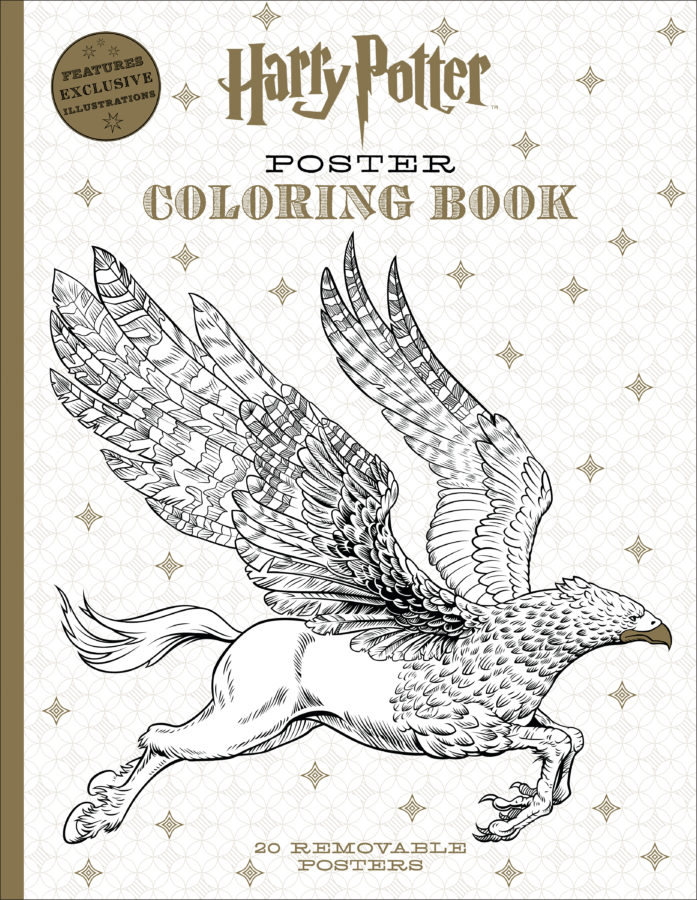 Scholastic - Harry Potter Poster Coloring Book