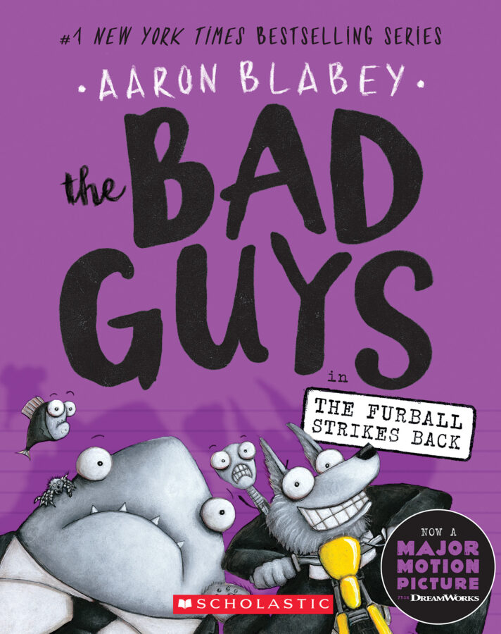 Aaron Blabey - Bad Guys in The Furball Strikes Back, The