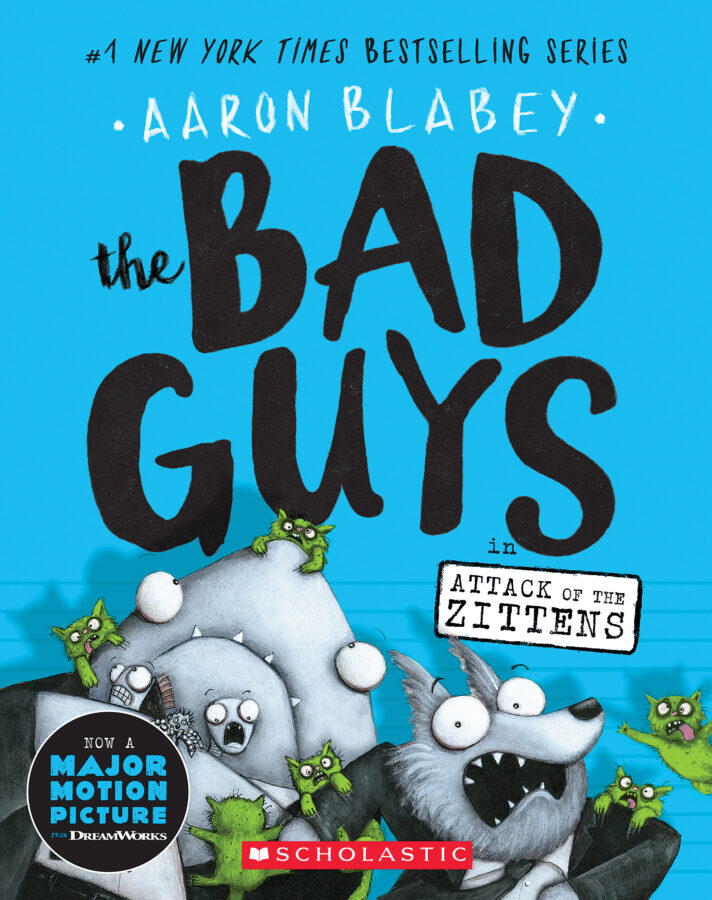 Aaron Blabey - The Bad Guys in Attack of the Zittens