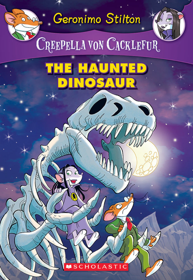 Geronimo Stilton - The Haunted Dinosaur