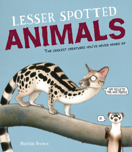 Martin Brown - Lesser Spotted Animals