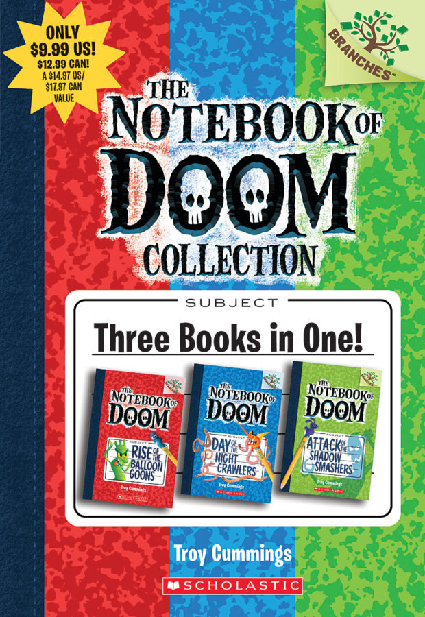 Troy Cummings - The Notebook of Doom Collection (Books #1-3)