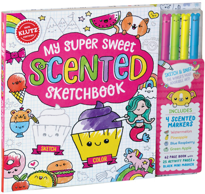 Klutz: My Super Sweet Scented Sketchbook