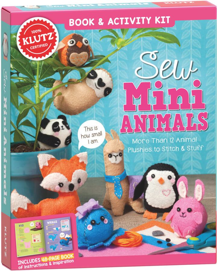 Editors of Klutz - Sew Mini Animals