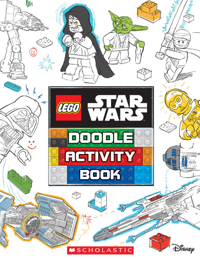 AMEET Studio - Doodle Activity Book (LEGO Star Wars: Search and Find)