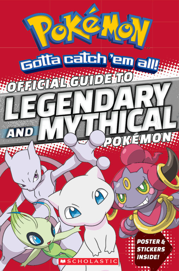 Simcha Whitehill - Official Guide to Legendary and Mythical Pokemon
