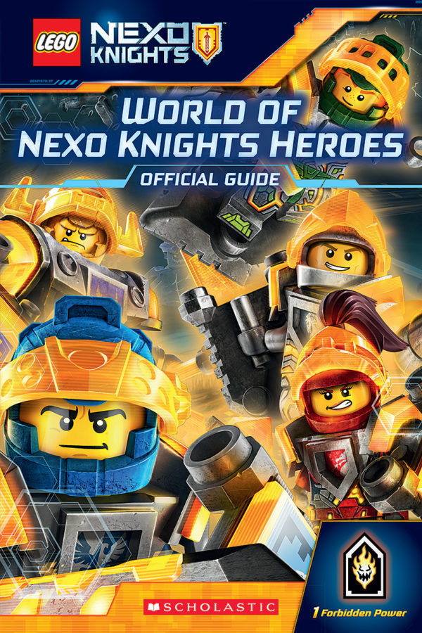 Scholastic - World of NEXO KNIGHTS Heroes: Official Guide