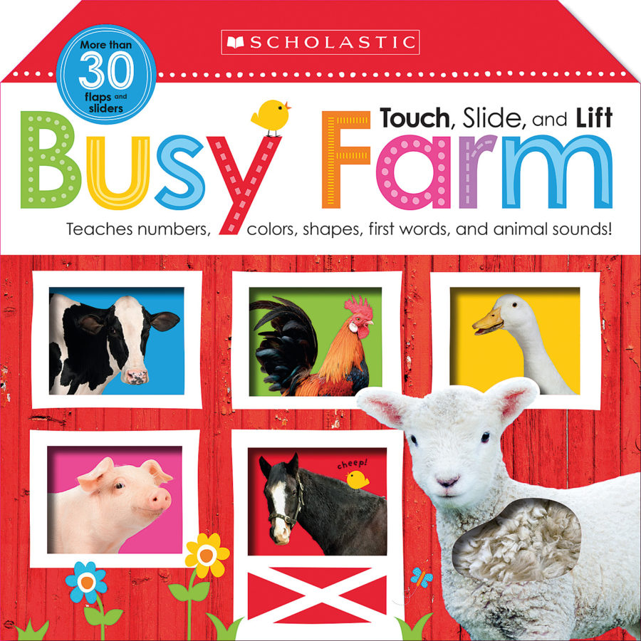 Scholastic - Touch, Slide, and Lift Busy Farm