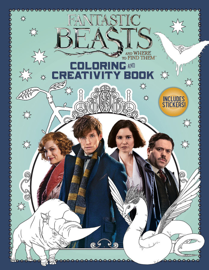 Liz Marsham - Fantastic Beasts and Where to Find Them: Coloring and Creativity Book