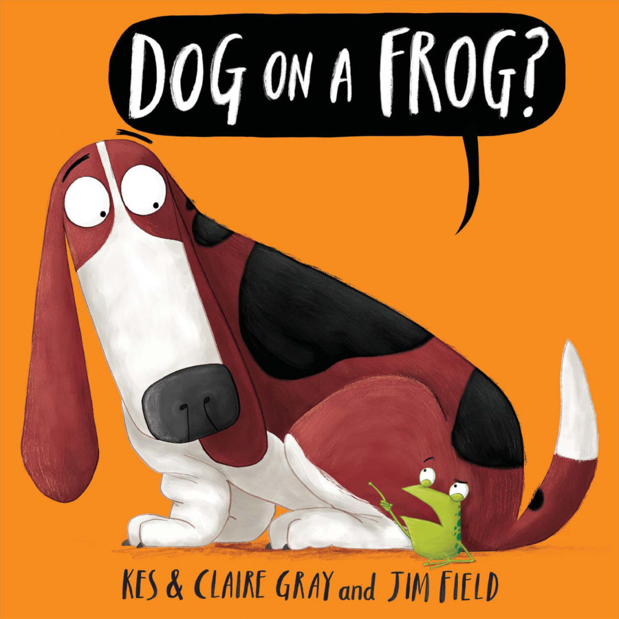 Claire Gray - Dog on a Frog?