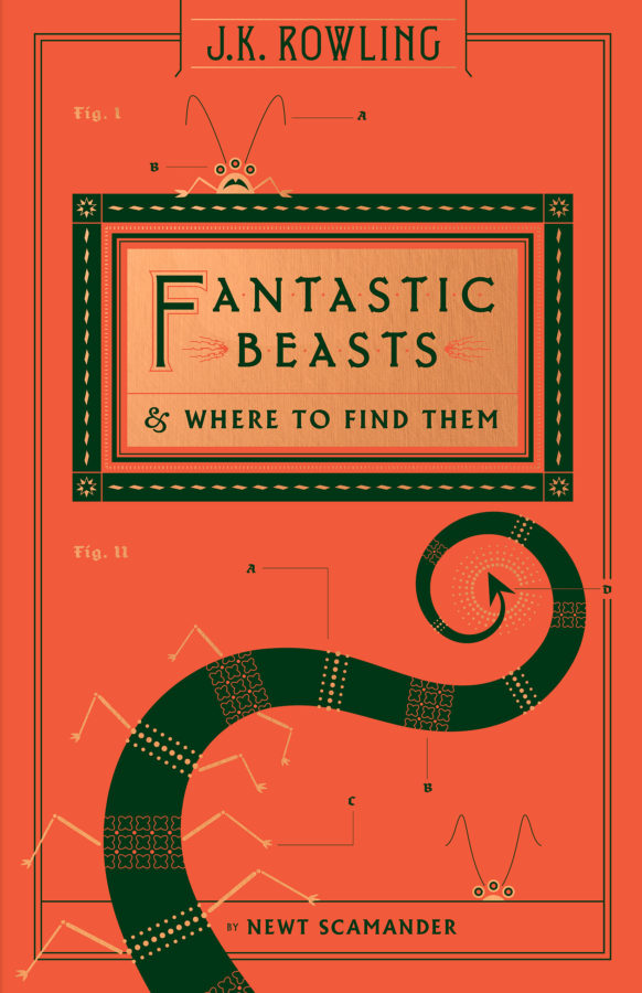 J. K. Rowling - Fantastic Beasts and Where to Find Them (NEW COVER)